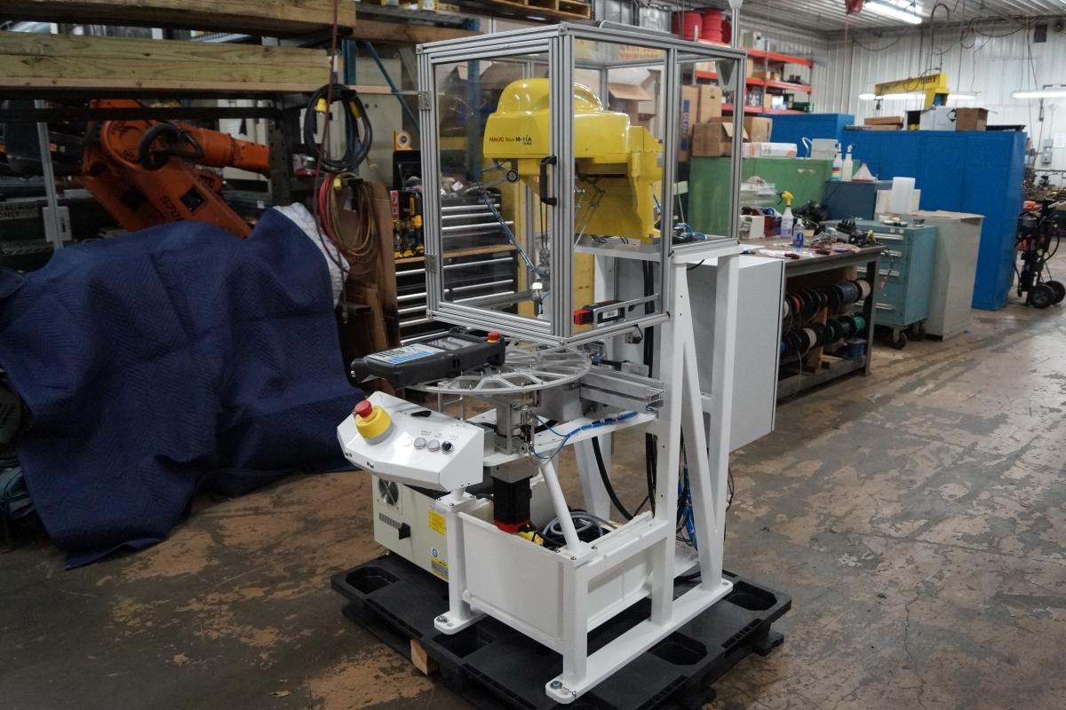 Fanuc M-1iA/0 5A R-30iB 7 Axis Delta Robot Cell
