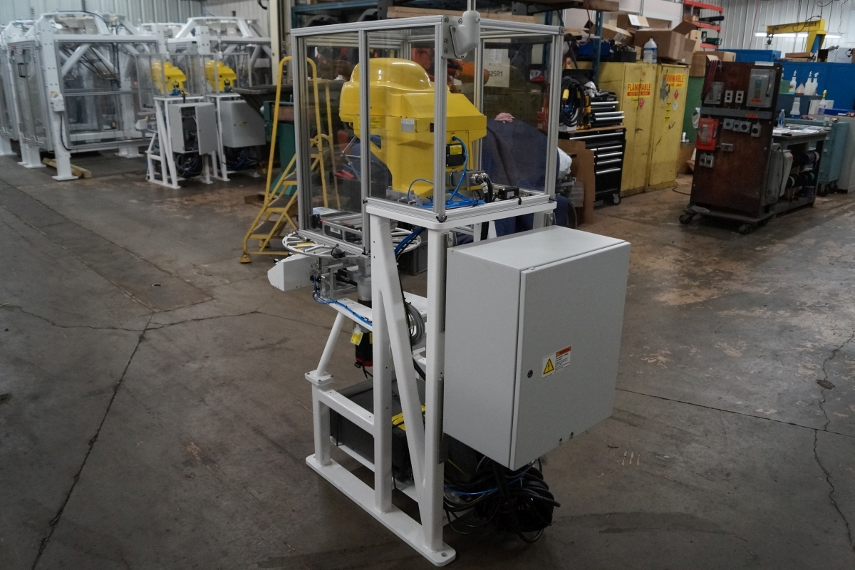 Fanuc M 1ia 0 5a R 30ia 7 Axis Delta Robot Cell Scc