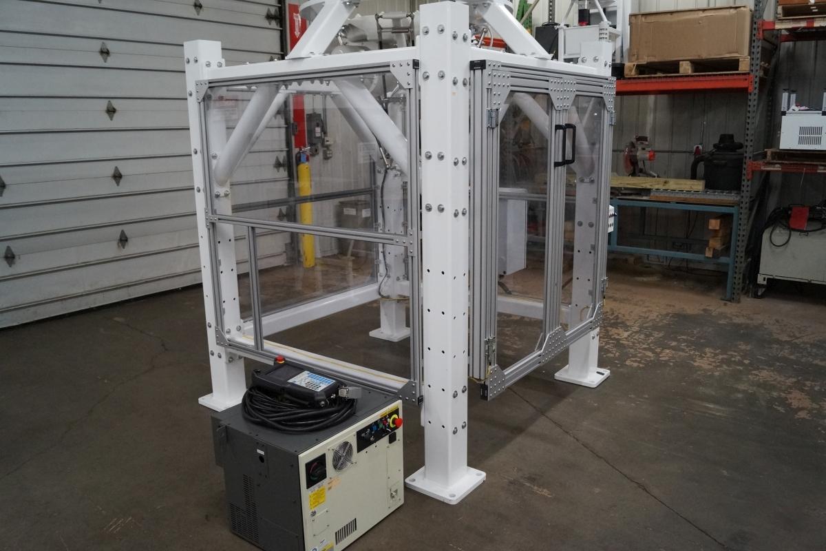 Fanuc M-3iA/6S Delta Robot Cell w/ R-30iB Control